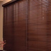 Wooden Blind Onna Platinum