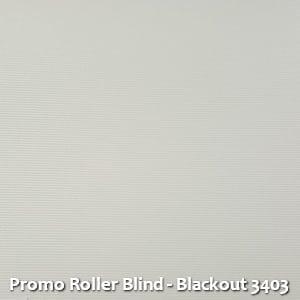 Promo Roller Blind - Blackout 3403